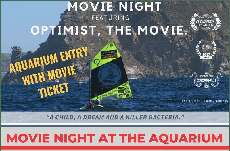Movie Night at The Aquarium