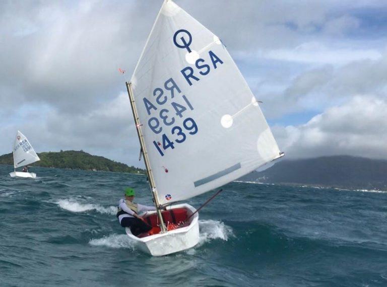 Optimist Sailing SA team