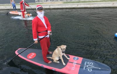 Paddle for Presents 28 November event