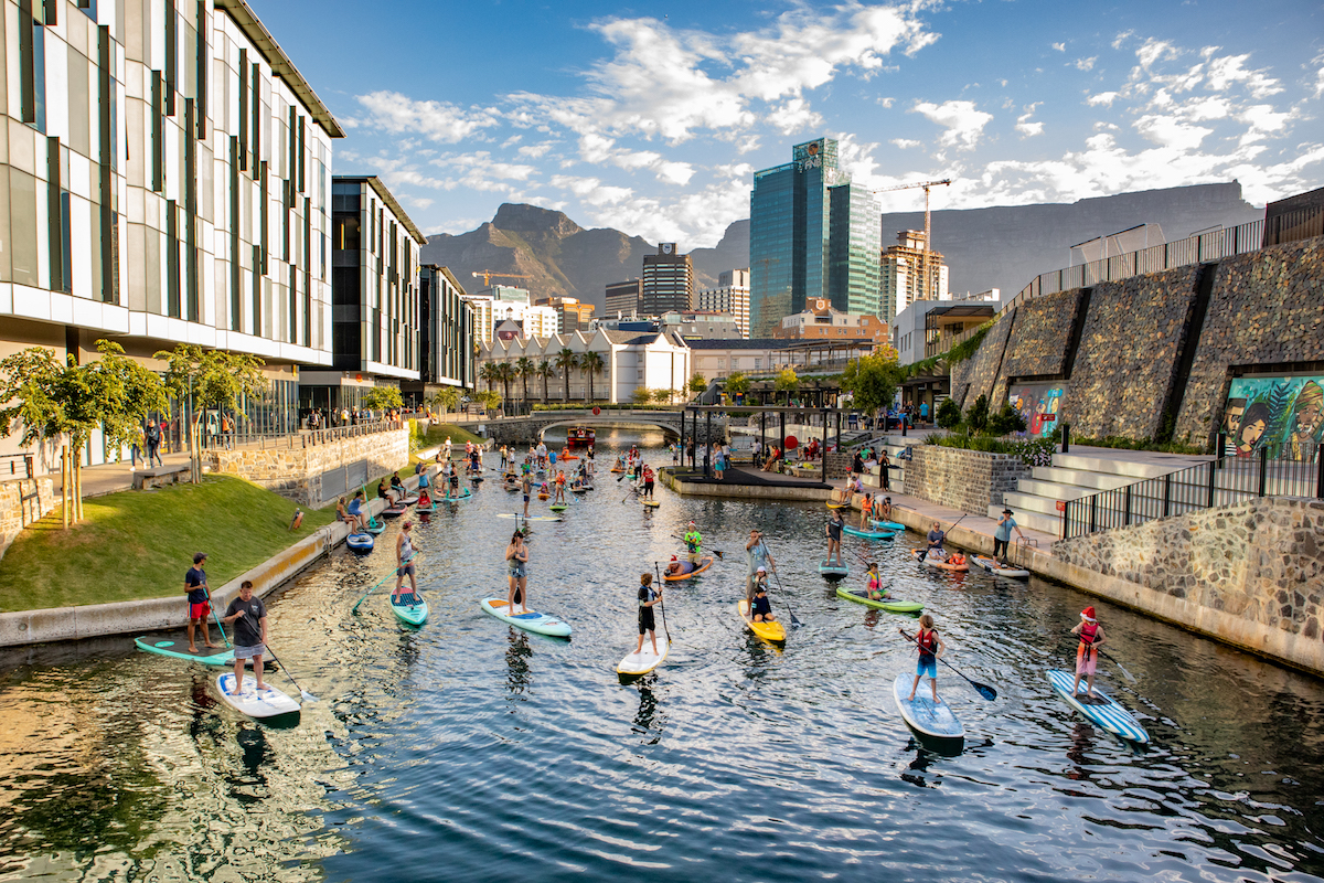 South Africans paddle to bring some Christmas cheer